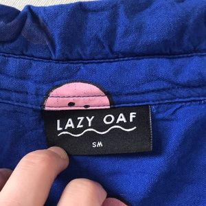 Lazy Oaf Tops - 😜😊Super rare and sold out Lazy Oaf smiley shirt